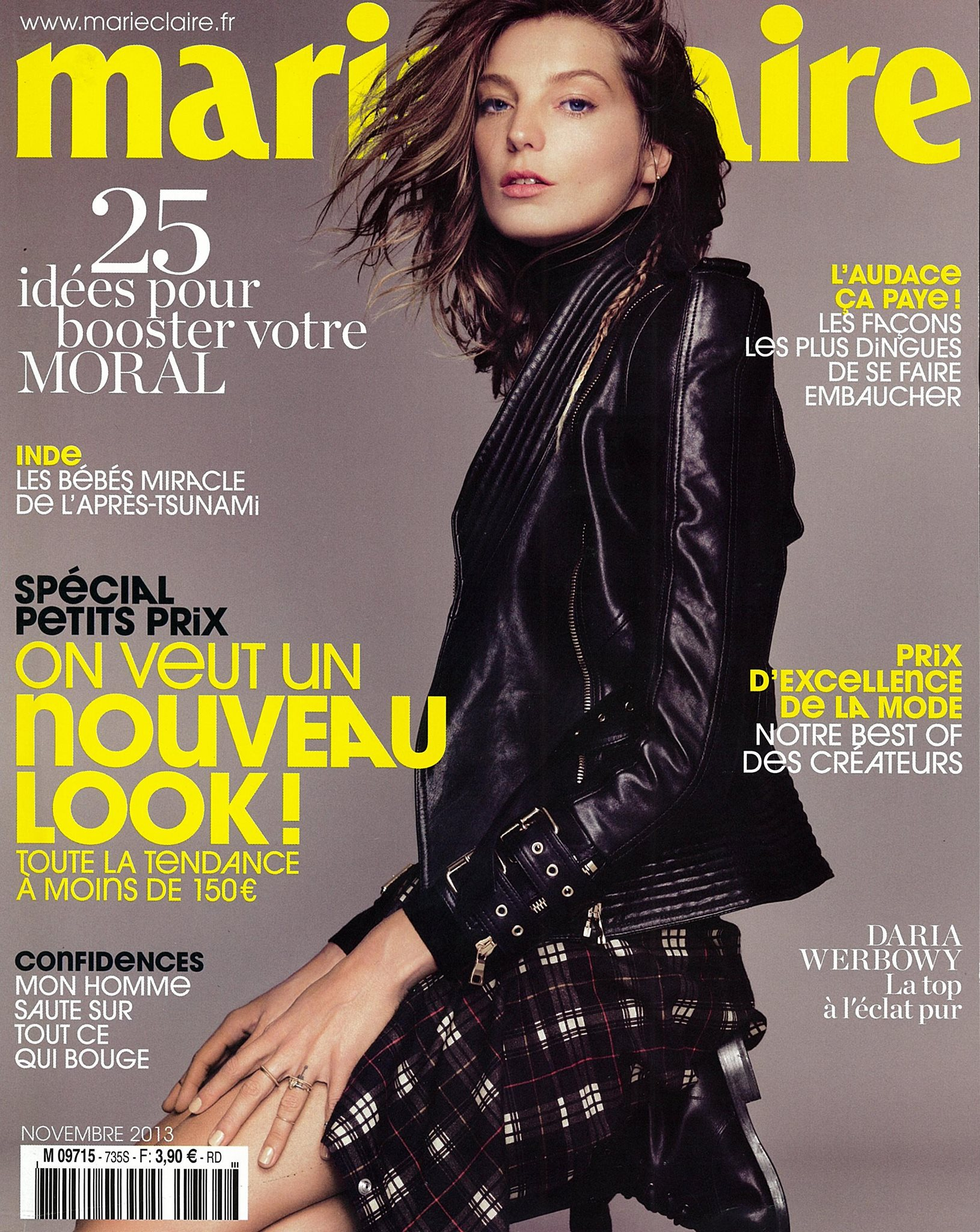 Marie Claire Cover With Balmain