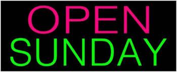 Open on Sundays!