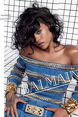 Rihanna x Balmain